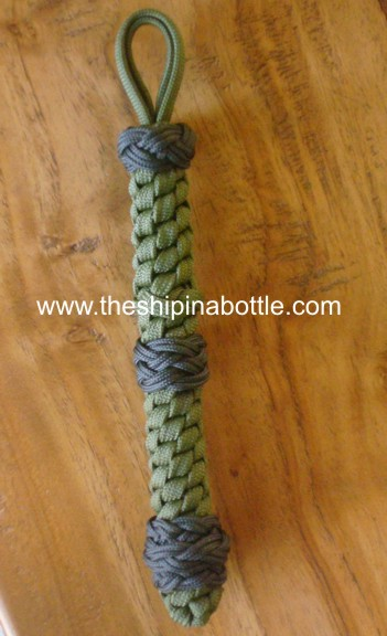 Bell rope made with paracord