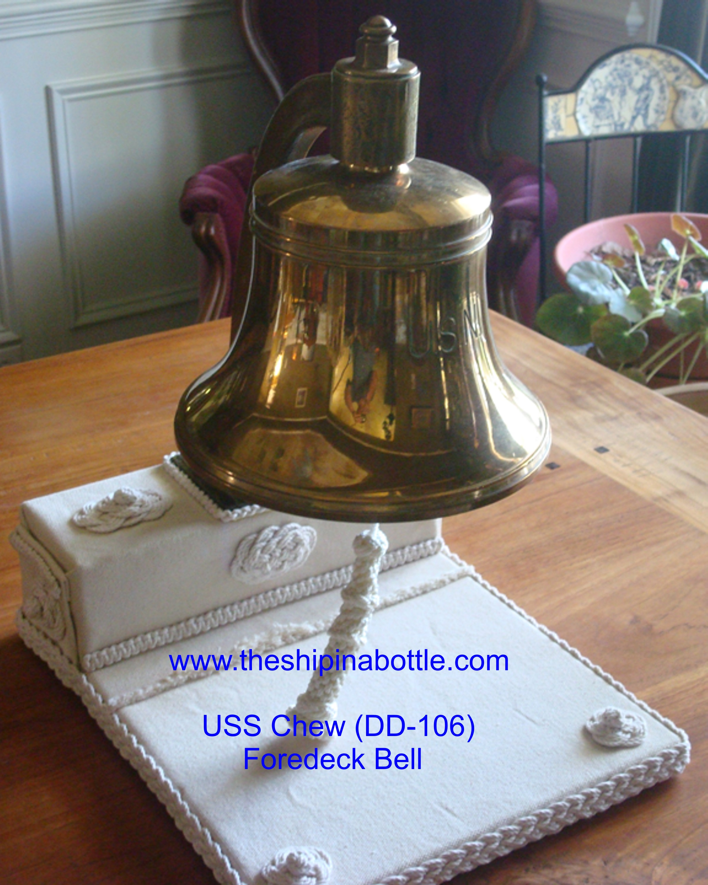 Authentic US Navy Bells