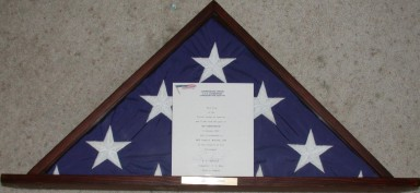 Flag flown from the gaff of USS Constitution