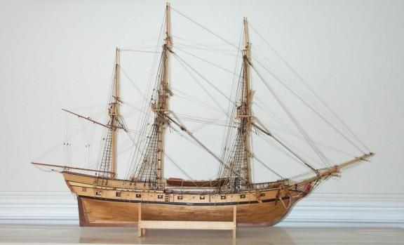 Ship Models - My Model of Rattlesnake