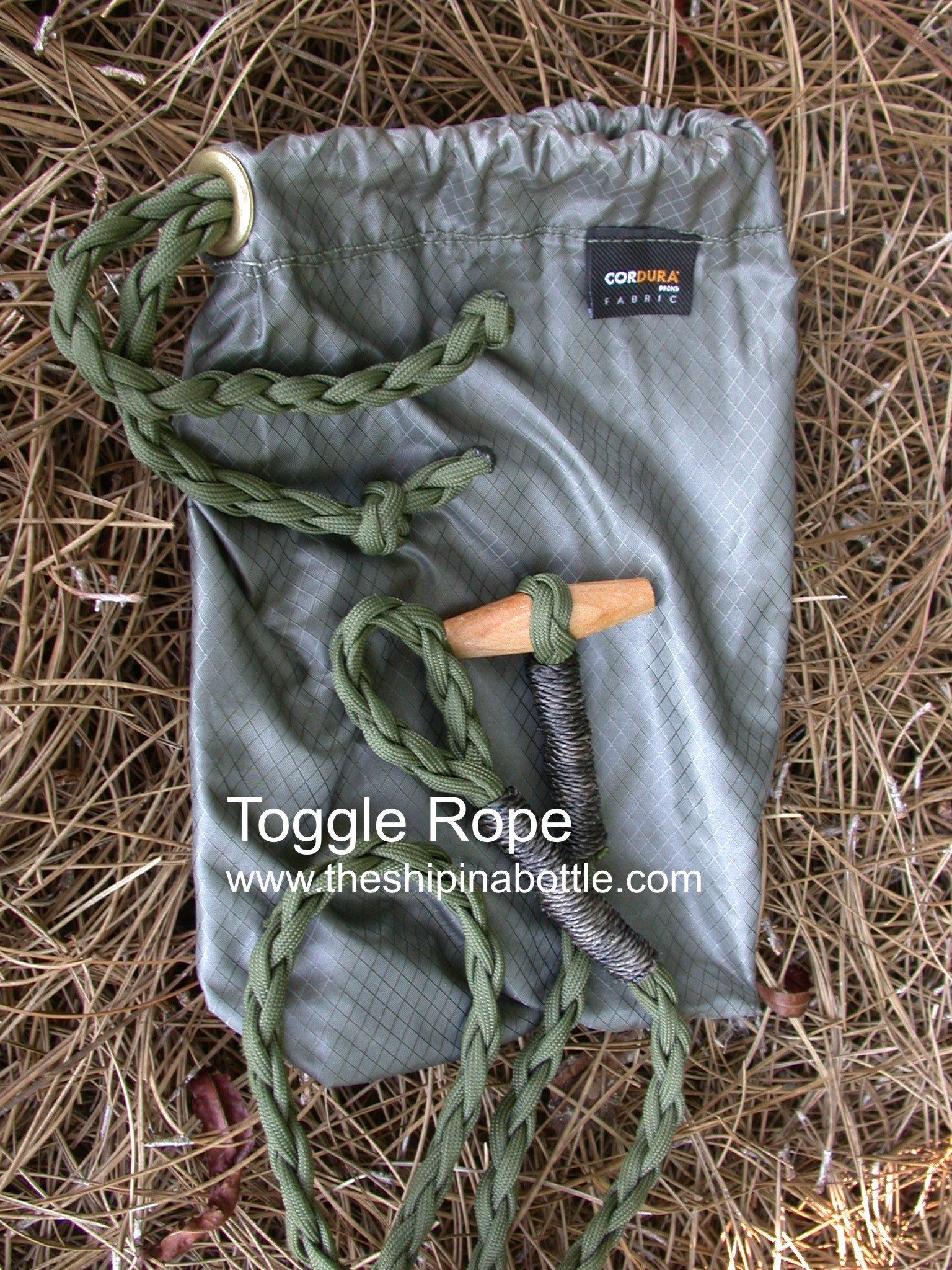 Toggle Ropes Developed by THE Ship in a Bottle