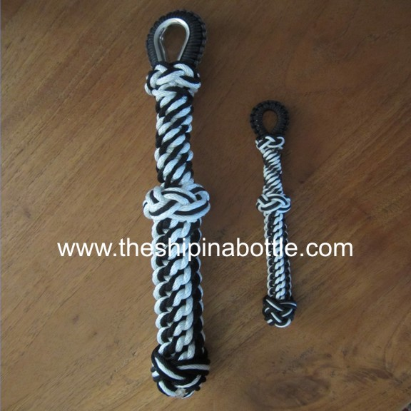 Black and White matching ropes