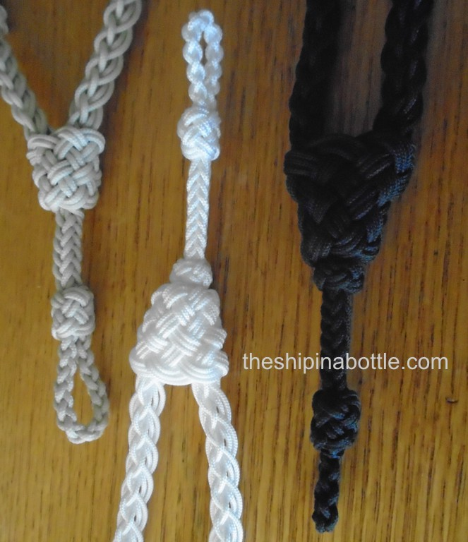Boatswain Pipes and Lanyards