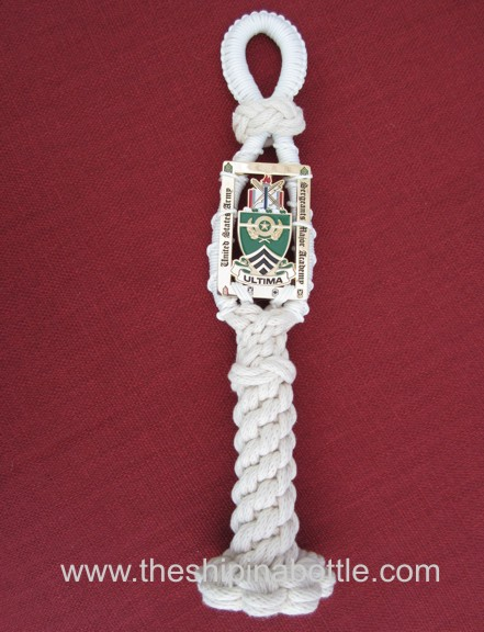 Bell Rope with Challenge Coin Attached